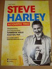 STEVE HARLEY  :  ACOUSTIC TRIO 2016 Tour Flyer