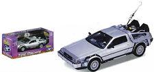Back to the Future 1 - 1:24 Scale Die-Cast DeLorean Car Replica NEW IN BOX