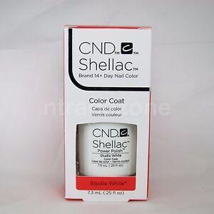 CND Shellac Power Polish UV Gel 0.25 oz with retail box pick your shades PART A