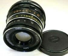 Industar 55mm f2.8 M39 LTM mount Lens adapted to M4/3 mount GH3 GH5 cameras OM-D