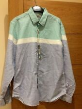 Marks and Spencer Linen Fitted Casual Shirts & Tops for Men