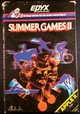 Summer Games 2 II - Apple II Disk - Epyx (1985) Complete