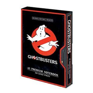 Genuine Ghostbusters Logo VHS Premium Hardback Notebook Note Pad Classic Film