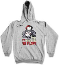 IT WANTS YOU TO FLOAT HOODIE SWEATSHIRT Fun Clown Pennywise Stephen It King