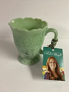 The Pioneer Woman Timeless Beauty Jade Color Creamer- Pitcher Vintage Style New