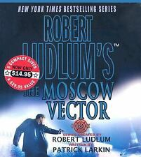 Covert-One: The Moscow Vector 6 by Patrick Larkin and Robert Ludlum, AUD