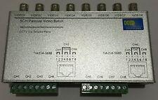 8CH HD CVI/TVI/AHD Passive Video Balun Transceiver Adapter Cable 720P 1080P