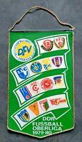 Orig. Wimpel DDR Oberliga 1979/80 Fußball Jahreswimpel BFC Dynamo Jena Leipzig