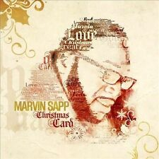 Christmas Card by Marvin Sapp (CD-2013, RCA) BRAND NEW SEALED! FREE SHIPPING!
