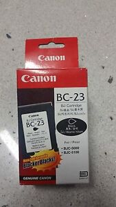 Genuine .Canon BJ Cartridge BC 23, BJC-5000, BJC 5100, Series
