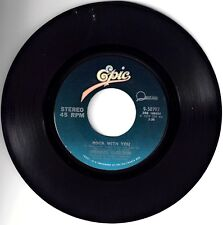 """MICHAEL JACKSON! - """"WORKING DAY AND NIGHT"""" B/W """" ROCK WITH YOU"""" EPIC ST 45 VG!"""