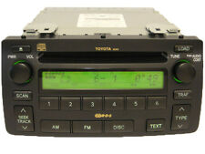03 04 05 06 07 08 Toyota Corolla OEM RDS Radio Stereo 6 CD Changer Player A51814