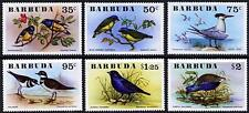 BIRDS (6 different STAMPS) perforated SC#238-43 MNH from Barbuda 1976