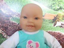 "Berenguer Babies Happy 14"" Baby Doll, Soft Body Blue Eyes"