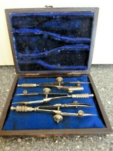 BOXED SET OF VINTAGE DRAWING INSTRUMENTS (1)