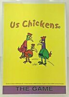 US CHICKENS THE GAME - Board Game by John Byrne - Based on Chickens of Bungay