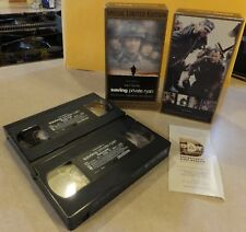 SAVING PRIVATE RYAN SPECIAL LIMITED EDITION 2 VHS TAPES BONUS FOOTAGE TOM HANKS