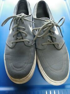 Men's Nike Dark Gray Stefan Janoski Skateboard Shoes, Size 10,