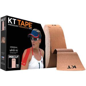"KT Tape Cotton Jumbo 10"" Precut Kinesiology Therapeutic Sports Roll - 150 Strips"