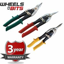 3 PK AVIATION TIN SNIPS SET SHEET METAL CUTTERS SHEARS TINSNIPS SHEAR B2470