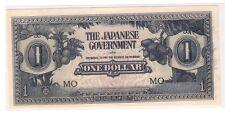$1 Malaya Japanese Invasion Money (JIM), prefix MO (UNC)