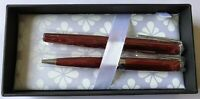 Diplomat Excellence A2 Skyline Red ballpoint and fountain pen set