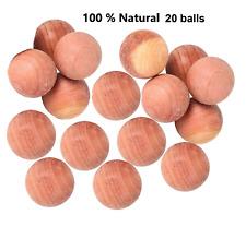 Cedar wood moth balls repellent mildew eco friendly poison free clothes drawer