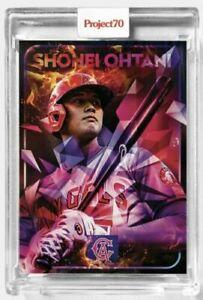 Topps Project 70 Card 625 - Shohei Ohtani by Mikael B - PRESALE