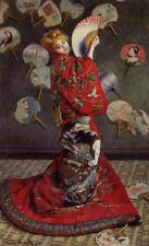 Claude Oscar Monet Camille Monet Japanese Costume 30x18 Canvas Print Unframed