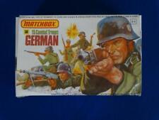 COJG-224- German Combat Troops - WWII - Matchbox 1/32 - Plastic Kit - 15 Figure