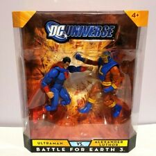 D.C UNIVERSE BATTLE FOR EARTH 3 TWO PACK ULTRAMAN VS ALEXANDER LUTHOR