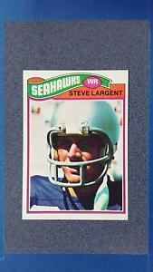 1977 Topps #177 STEVE LARGENT Seattle Seahawks EX+ ~MR39A
