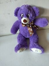 Plush Purple Teddy Bear From National Entertainment