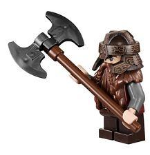 Lego Gimli LOTR Hobbit minifigure ref.9473 lor013 GENUINE - BRAND NEW 9474 79008