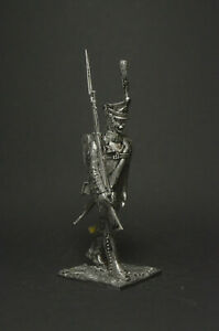 Tin soldier figure Private of the Life Guard Lithuanian Regiment 54 mm