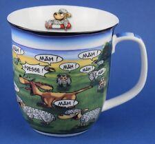 Hösti Kaffeebecher Fresse Mäh Mäh Schafe Hund Becher Tasse Cartoon