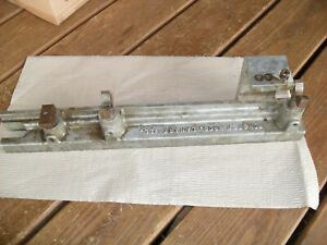 ForsterUniversal Sight Mounting Fixture Base Gun Smithing missing parts read!!