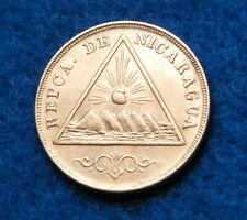 1899 Nicaragua 5 Centavos - Beautiful Rare Coin - See Pictures
