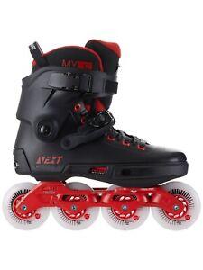 Powerslide Next 80 Skates Black/Red  9.0 - 10.0 (42-43)