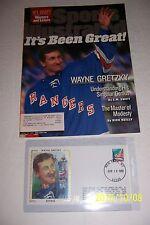 1999 Sports Illustrated WAYNE GRETZKY Retires + Silk Cachet IT'S BEEN GREAT