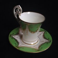 Antique Coalport Coffee Cup And Saucer,DEMI TASSE,CABINET CUP/SAUCER,GOOD COND