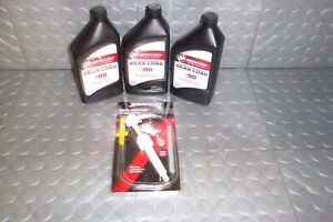 Mercury High Performance Gear Lube 90W and Pump 92-858064K01  91-8m0072135 3Pack