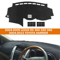 For Lexus RX RX300 RX330 RX350 2004-2009 Dashboard Cover Dashmat Dash Mat Pad