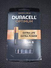 Duracell Optimum AAA Alkaline Batteries - 8ct ... FREE SHIPPING ... A5