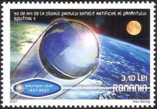 Romania 2007 Sputnik 50th Anniversary/Space Research/Satellite/Science 1v n44612