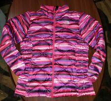 North Face 550 Fill Down Puffy Jacket Coat Girls SZ XL