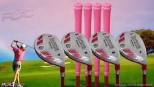 Petite Senior Women's iDrive Golf Clubs Pink Hybrid (4-7) Set Senior Flex