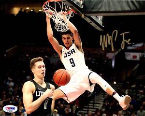 Michael Porter Jr. autographed signed 8x10 photo NBA Denver Nuggets PSA COA