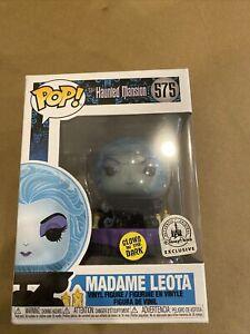 Funko Pop! Madame Leota GITD The Haunted Mansion Disney Parks Exclusive