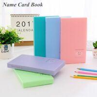 Candy Color Portable Card Stock Photocard Book Photo Album Lomo Card Holder